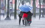 نشرة إنذارية : أمطار قوية بالناظور والريف