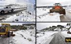 آليات مجلس جهة الشرق تتدخل لإزالة الثلوج بكل من إقليمي جرادة وبركان وعمالة وجدة أنجاد