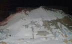 تندرارة.. مواطنون ينتظرون داخل خيام مهترئة تدخل السلطات لانقاذهم من موجه البرد القارس