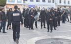 """الجمعية المغربية لحقوق الانسان تدين """"القمع"""" الذي تعرضت له وقفة تخليد ذكرى 20 فبراير بالناظور"""