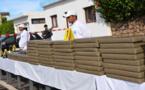 صيد ثمين.. الدرك الملكي يضبط شاحنة محملة بـ 4 أطنان من الحشيش و محركات مائية
