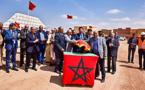 رئيس جهة الشرق يعطي انطلاقة مشاريع تنموية باقليم جرادة