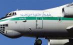 لحظة سقوط الطائرة الجزائرية