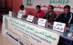 جمعية الحي العمالي للتنمية والبيئة بأزغنغان تعقد ندوة صحفية  لإعلانها عن تنظيم كرنفال و 3 مهرجانات