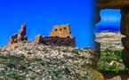 """شاهدوا الصور.. بقايا أحد أبراج المراقبة الإسبانية بتلال """"بني سيدال الجبل"""" نواحي الناظور"""