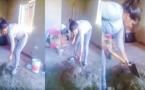 فيديو لشابة مغربية في مقتبل العمر تشتغل كعاملة بناء يشعل الفايسبوك