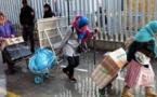 عربات نقل البضائع لتخفيف معاناة نساء التهريب المعاشي