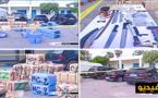شاهدوا كيف تم إعتقال شبكة تهريب المخدرات وحجز 6 أطنان من الحشيش بالناظور