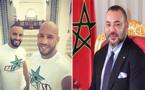 الملك محمد السادس يستقبل بطلي العالم في القتال الحر الريفيين أبو زعيتر