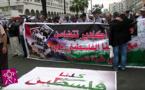 مسيرة حاشدة لدعم فلسطين