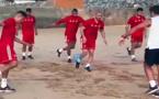 استعدادات المنتخب المغربي لروسيا