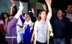 لحظة الإعلان عن الأحكام في حق الزفزافي ورفاقه