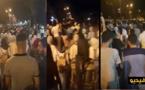 طلبة وجدة يتجهون نحو الولاية إحتجاجا على الأحكام الصادرة في حق نشطاء حراك الريف