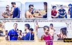 شاهدوا أجواء الصيف في الشاطئ الإصطناعي بكورنيش الناظور
