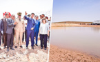 رئيس مجلس جهة الشرق وكاتبة الدولة في الماء يتفقدان مشاريع نقط الماء بإقليم فكيك