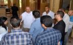 الدريوش.. الكاتب العام لوزارة العدل يقف على مستوى تقدم الأشغال بالمحكمة الابتدائية خلال زيارة مباغتة