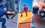 فاسي يواجه مسدسات الشرطة بسيف