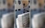 معاق يتعرض للضرب ومهاجمته بكلب شرس