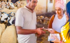مغربية اشترت 140 أضحية ووزعاتها على الفقراء