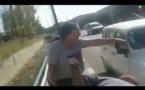 مواطنون يلقون القبض على لص اعتدى على سيدة وسرقها