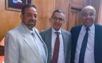 رجل الأعمال شاطر عبد الإله و رئيس المجلس الجماعي لبركان يشيدان بنجاح زيارة الوفد لبلجيكا