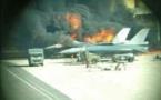 """جرحى في حادث انفجار طائرة """"إف 16"""" ببلجيكا"""