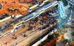 """وفاة 3 جرحى ترفع حصيلة فاجعة انقلاب """"قطار بوقنادل"""" إلى 10 قتلى"""