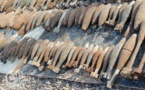 عمال يعثرون على ما مجموعه 30 قنبلة قديمة لم تنفجر تعود لفترة الإستعمار الإسباني