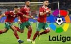 """الصفحة الرسمية """"لليغا"""" تهنئ المنتخب المغربي بعد فك عقدة المنتخب الكاميروني"""