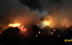 "اندلاع حريق مهول بمنطقة ""ماروست"" والإطفائيون يسارعون لإخماده قبل انتشار نيرانه بالناظور"