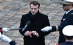 أزمة السترات الصفراء بفرنسا.. ماكرون يتفهم غضب الشارع لكن يرفض التنازل أمام المخربين