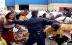 عودة التدافع إلى باب سبتة يتسبب في إصابة حوالي 15 امرأة