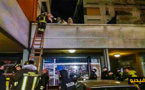 شاهدوا.. حريق مهول في عمارة سكنية ينهي حياة مهاجر مغربي وزوجته