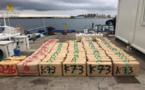 ضبط أزيد من طنين من الحشيش كانت على متن قارب مطاطي يقوده مغاربة قرب غرناطة
