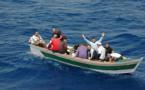 البحرية الملكية تعترض قاربا انطلق من سواحل الدريوش على متنه 11 مهاجرا سريا