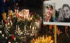 """مغاربة ينظمون وقفة تضامنية مع أسرتي ضحيتي جريمة """"شمهاروش"""" وسط كوبنهاغن"""