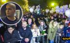 الألاف يحتشدون بروتردام لإحياء ذكرى مغني الراب الريفي الذي قتل ليلة رأس السنة