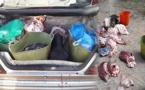 الدرك الملكي يحجز كمية من اللحوم الفاسدة وسيارة نفعية بالقرب من سوق خميس تمسمان بالدريوش