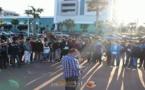 شاهدوا لحظات أول مبادرة تحسيسية حول الكمامة بالمغرب