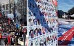 بحضور والدي الزفزافي.. مسيرة حاشدة وسط بروكسيل تطالب بالحرية لمعتقلي حراك الريف