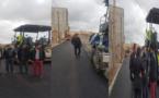 سعيد الرحموني يقف على أشغال تهيئة شوارع حي براقة بالناظور