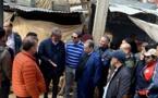 عامل إقليم الحسيمة يقف على اللمسات الأخيرة للشروع في إعادة هيكلة سوق الثلاثاء بالمدينة