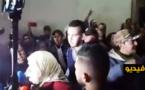 شاهدوا... غضب داخل المحكمة عقب النطق بالحكم الاستئنافي على معتقلي حراك الريف