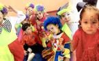 صور+اطفال جمعية ايمن للتوحد يشاركون في كرنفال حركة الطفولة الشعبية