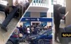 شاهدوا بالفيديو.. سطو مسلح على وكالة بنكية وإحتجاز موظفيها والشرطة تعتقل الجاني