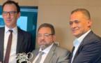 رئيس جمعية المقاولين المغاربة الفلامنكيين السيد شاطر عبد الإله يزور سفير دولة نيوزيلندا ببلجيكا لتقديم التعازي.