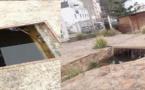 """بالوعات مكشوفة لصرف المياه بحديقة """"ألمونيكار"""" تهدد أطفال الحسيمة"""