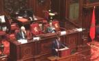 المستشار الملكي أندري أزولاي يحاضر بمجلس الشيوخ البلجيكي