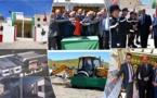 عامل إقليم الدريوش يفتتح مركزاً للوقاية المدنية بجماعة اتسافت ويعطي انطلاقة بناء مستوصف صحي