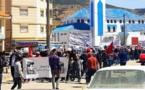 """الحسيمة.. ساكنة """"تلاوراق"""" تخرج في مسيرة حاشدة للمطالبة بحرية معتقلي حراك الريف"""